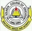 Tai Solarin College of Education (TASCE) logo
