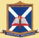 Ajayi Crowther University logo