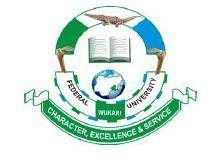 Federal University FUWukari logo