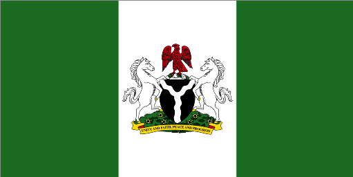 Nigerian Flag official