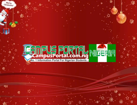 Merry Xmas From the CampusPortalNG Team