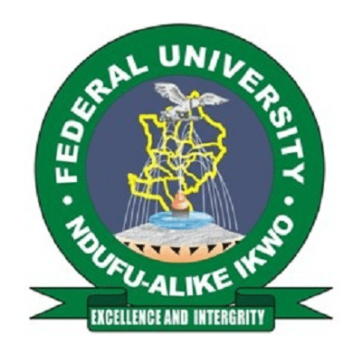 Federal University of Ndufu Alike FUNAI logo