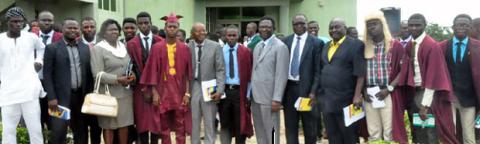 FUNAAB Swears-In New Student Union Executives