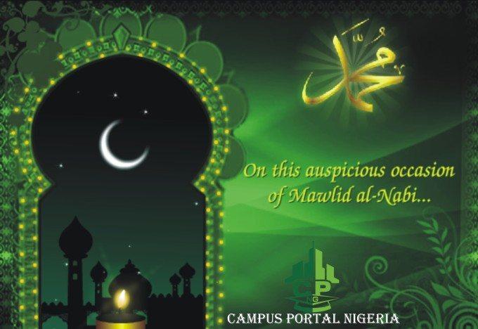 Eid Maulud Greetings - Campus Portal Nigeria