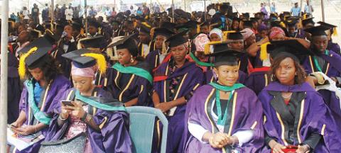 34 First Class as FUTMinna Graduates 2,788 Students