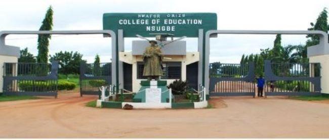 nwafor orizu college gate