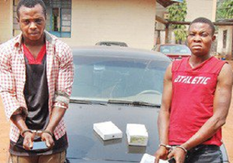 2 EBSU Students Arrested for Murder in Enugu [Photos]