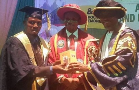 Hilarious: See The Prize UNISOUN First Class Graduate Received From Osun Governor