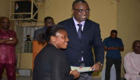 [Photos] BSU Honours Best Performing Students Of 2014/2015 Session