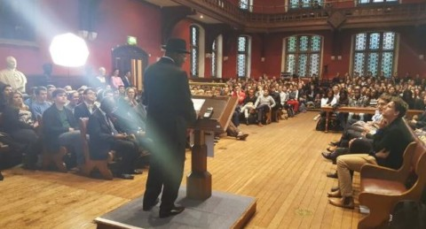 Full Transcript Of Speech Delivered By President Goodluck Jonathan To Oxford Students
