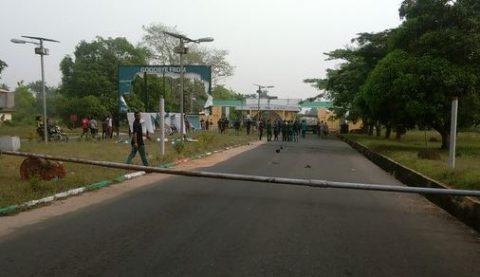 Nigeria Police Arrests 15 FUTO Students Over Violent Protest