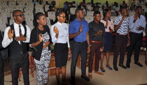 UNIZIK Inaugurates New Student Union Executives