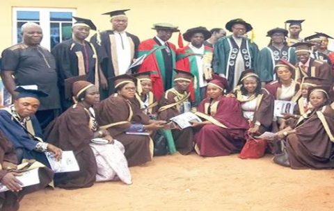 TRCN Induct 400 Nsukka College of Education Graduates