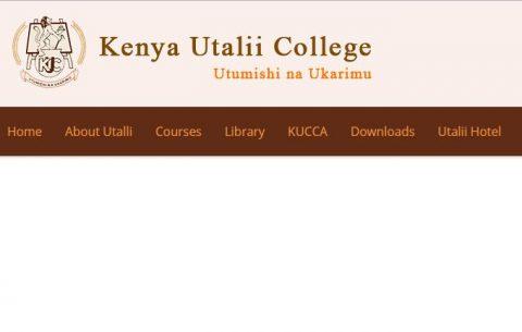 Kenya Utalii College School Fees Structure 2017/2018 Session